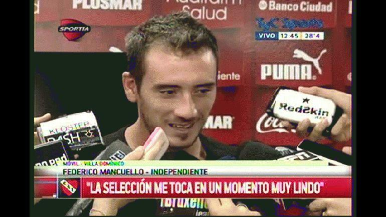 """Mancuello: """"La Selección me toca en un momento muy lindo de mi carrera"""""""