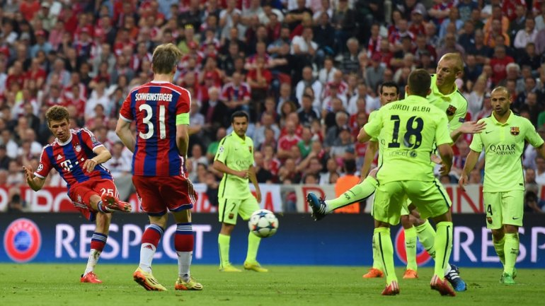 videos de goles de champions league: