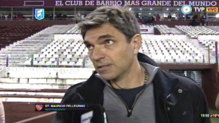 """Pellegrino: """"Todos quieren ganar y jugar bien"""""""