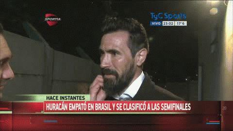 Eduardo Domínguez habló tras el pase a Semifinales