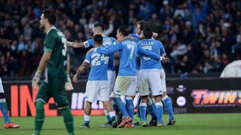 Higuaín ahora no perdonó y abrió el partido contra el Udinese