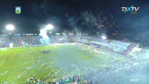 Cerca del ascenso: el recibimiento del público de Atlético Tucumán en el duelo con Los Andes