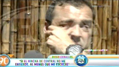 Diego Ceballos habló sobre la defensa de su madre al borde del llanto