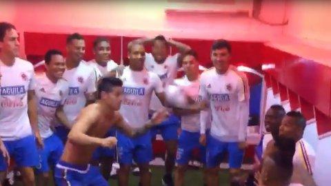 Con James Rodríguez a la cabeza, la Selección de Colombia se divierte antes de enfrentar a Argentina