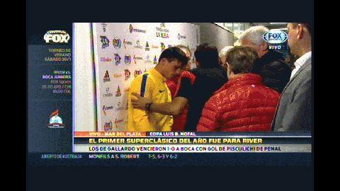 Boca 0-1 iver: Silva se disculpa con Mercado luego de haberlo sacado del partido