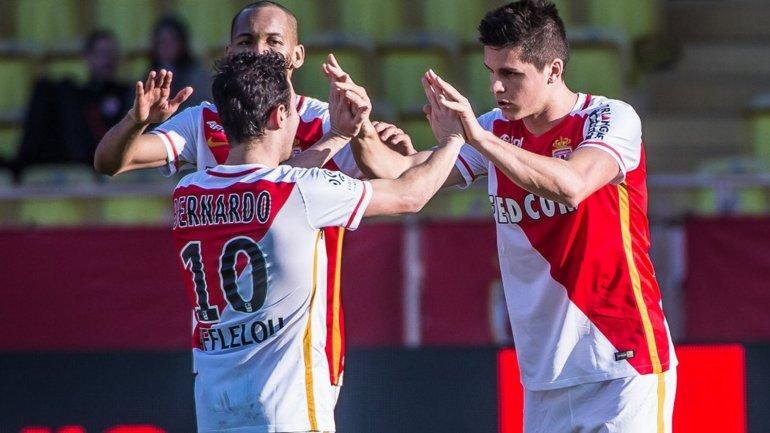 Guido Carrillo marcó el tercero del triunfo 4-0 del Mónaco sobre Toulouse