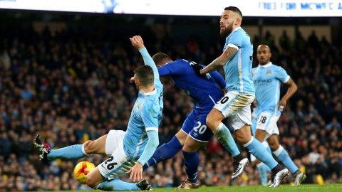 El gol de Barkley para Manchester City 0-1 Everton