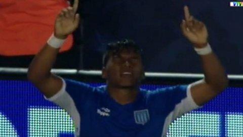 El gol de Roger Martínez para Independiente 1-3 Racing
