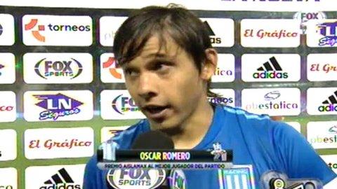 La palabra de Óscar Romero post Independiente 1-3 Racing