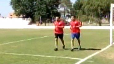 Ezequiel Ham ya trota luego de la grave lesión que le provocó Carlos Tevez