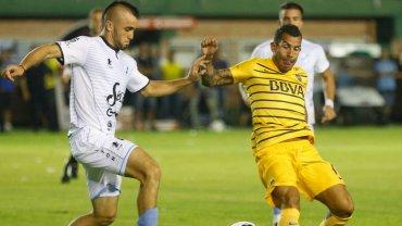 Carlos Tevez fue autocrítico luego del empate de Boca ante Temperley