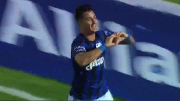 El gol de Zampedri para Atlético Tucumán 1-0 Racing
