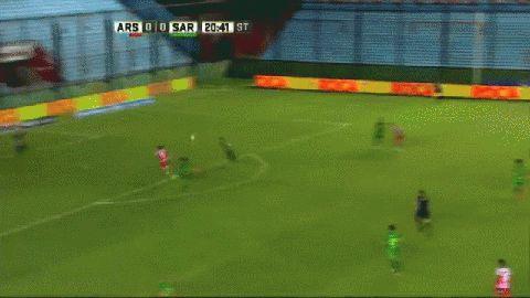 El gol de Juan Ignacio Sánchez Sotelo en Arsenal-Sarmiento