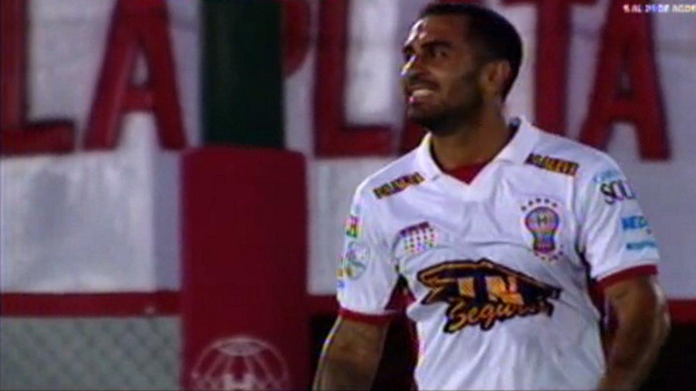 Huracán vs Atlético Nacional: el Rolfi Montenegro y un peligroso tiro libre que tapó Armani