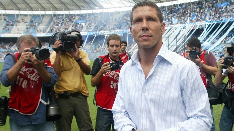 Se cumplieron 10 años del debut del Cholo Simeone como entrenador