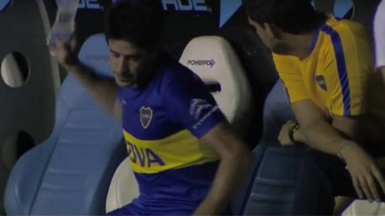 Racing vs Boca: el enojo de Pablo Peréz al ser reemplazado por Arruabarrena