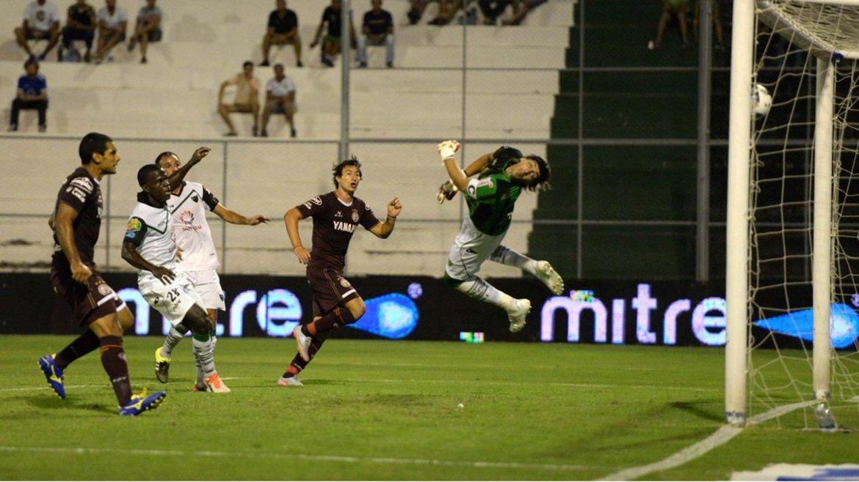 La palabra del goleador José Sand luego del empate de Lanús 2-2 en casa de San Martín