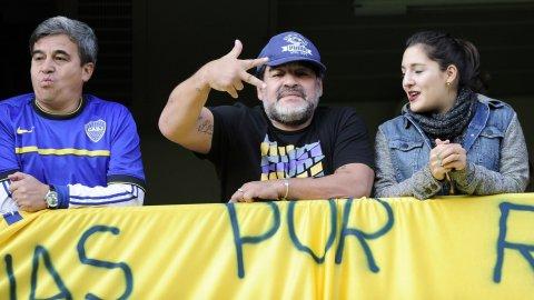 Diego Maradona: Se terminó mi sueño de dirigir a Boca