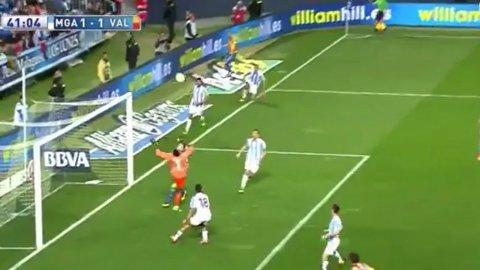 Kameni emuló a Sergio Goycochea y se metió un insólito gol en contra