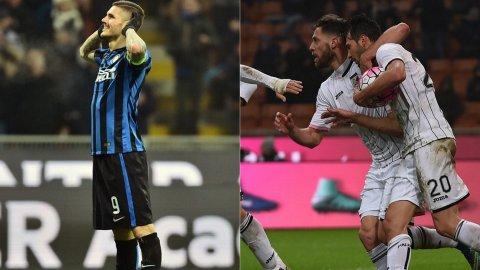 Mauro Icardi y Mudo Vázquez, los goles argentinos del Inter 3-1 Palermo