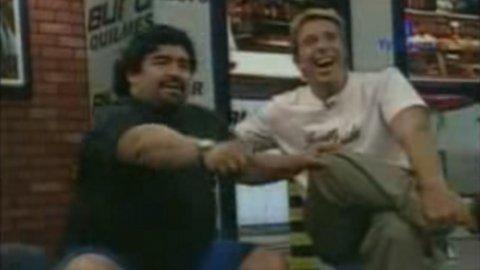 Anécdota extraordinaria: la patada de Roberto Perfumo a Diego Maradona
