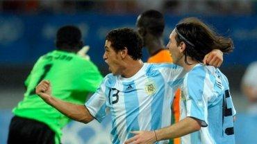 Lionel Messi remató cruzado y apareció Lautaro Acosta para marcarle a Costa de Marfil en los Juegos Olímpicos
