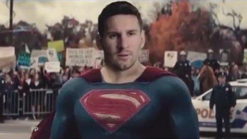 Messi vs Ronaldo, la parodia ante el estreno de la película Batman vs Superman