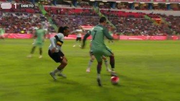 El lujo de Cristiano Ronaldo en Portugal-Bélgica