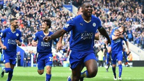 Gol de Wes Morgan (Leicester 1-0 Southampton)