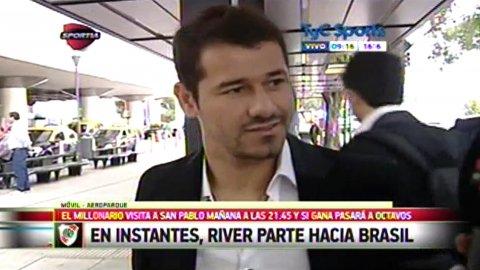 Rodrigo Mora habló antes de viajar hacia San Pablo y prácticamente confirmó su titularidad