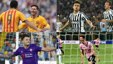 Messi, Dybala, Zárate, Vázquez y Paletta, los goles argentinos del día