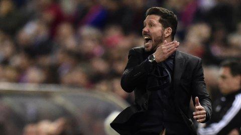La arenga de Simeone para que el público de Atlético Madrid aliente