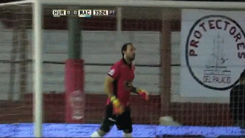 El gol de Roger Martínez para Huracán 0-1 Racing