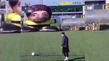 El desafío de Lionel Messi en la televisión japonesa