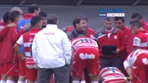 La arenga del entrenador de Deportivo Morón antes de los penales con Aldosivi