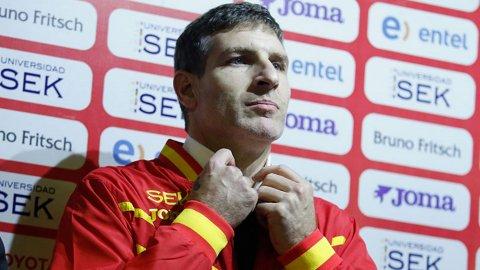 La presentación de Martin Palermo como DT de Unión Española