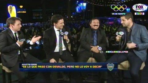El cruce de Agustín Orion con un periodista y la huida de Carlos Tevez