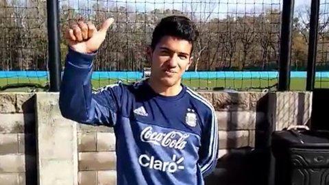 El saludo del hermano de Sergio Agüero por el cumpleaños